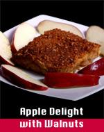 Apple Delight w/Walnuts