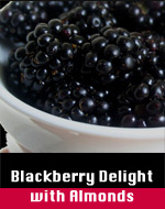 Blackberry Delight w/Almonds