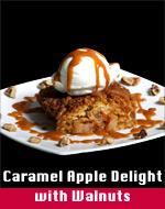 Caramel Apple Delight w/Walnuts
