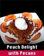 Peach Delight w/Pecans